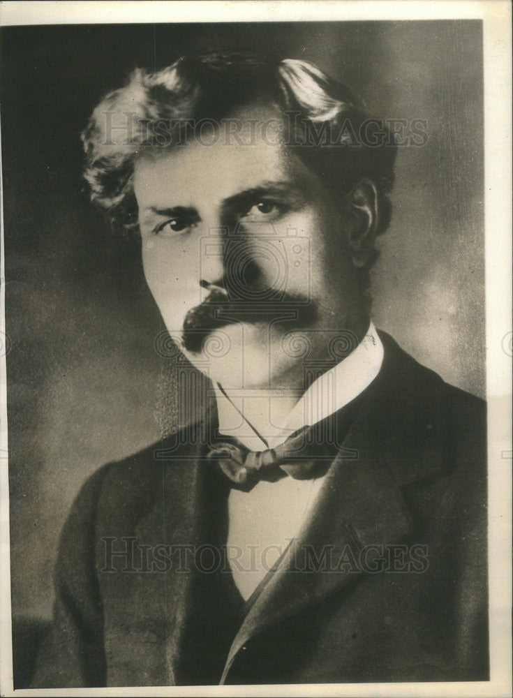 1914 Press Photo  J Ramsey MacDonald As Socialist And Pacifist Member Of Parliam - Historic Images