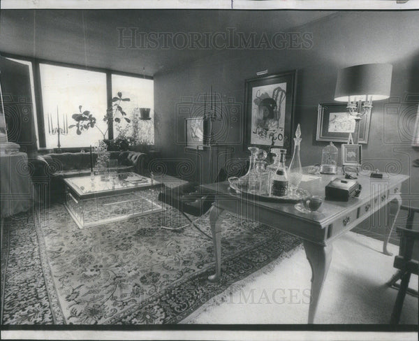 1976 Press Photo Jason Thomas Interior Design - Historic Images