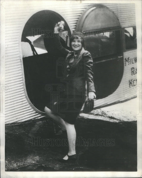 1929 Press Photo Miss Betty Peterman Dramatics Department - Historic Images