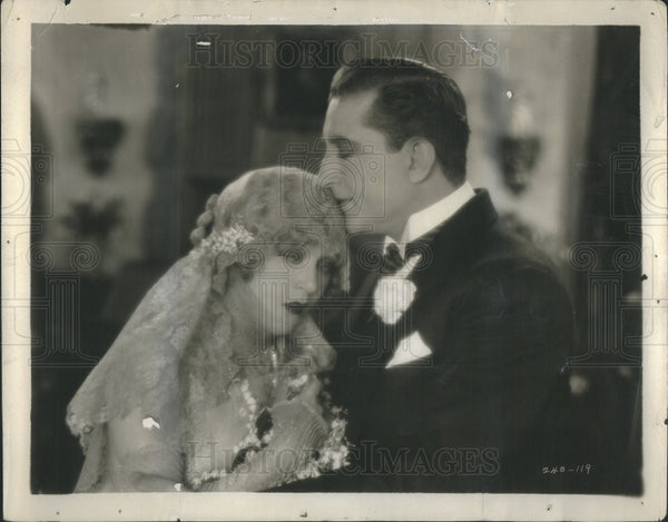 1925 Press Photo Mae Murray Francis Bushman Star The Masked Bride - Historic Images