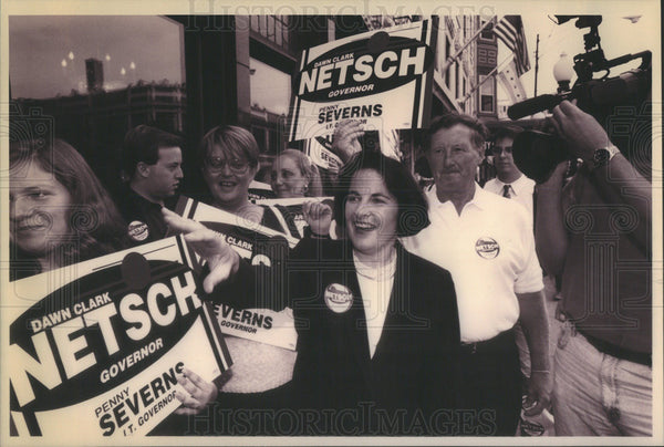 1994 Press Photo Governor Candidate Penny Severns - Historic Images