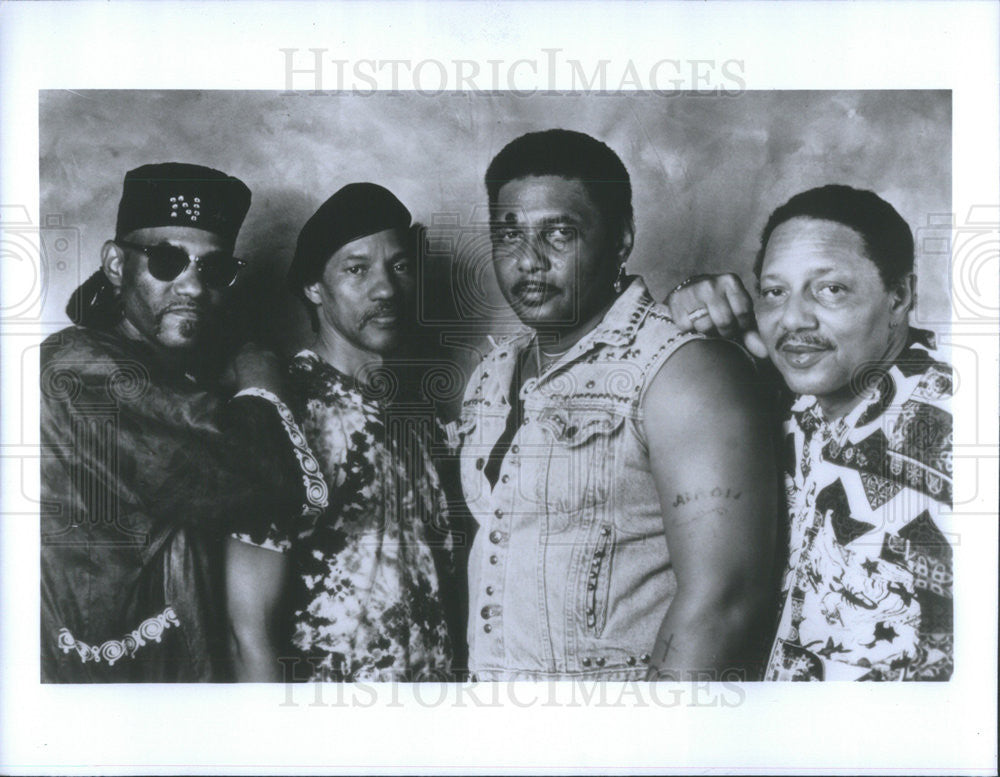 Press P O The Neville Brothers Singing Group Historic Images