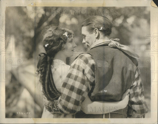 1926 Press Photo Gertrude Olmstead George Arthur Star The Boob - Historic Images
