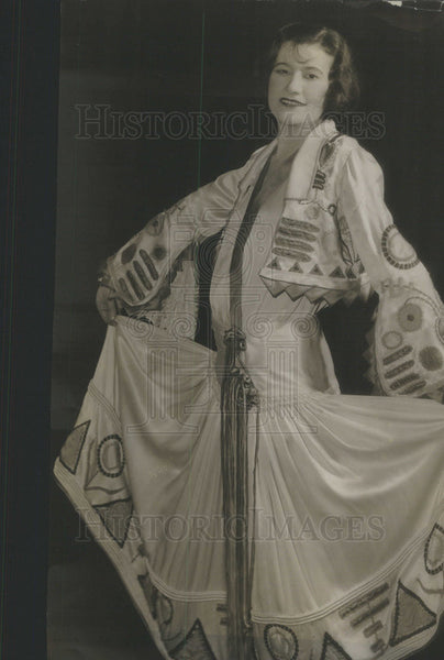 "1924 Press Photo Odette Myrtil Actress in ""Vogues and Frolics"" Apollo Theatre - Historic Images"