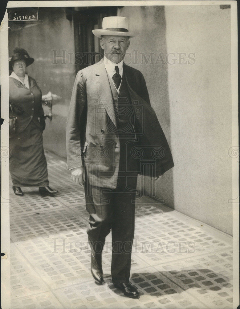 1916 Press Photo George W. Perkins at the Republican Convention in Chicago. - Historic Images