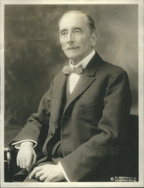 1918 Press Photo The new Chilean Ambassador to the US, Don Beltran Mathieu - Historic Images