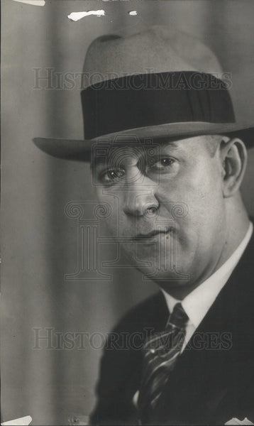 1927 Press Photo Wayne R> Otto Former Chicago Daily News Employee - Historic Images
