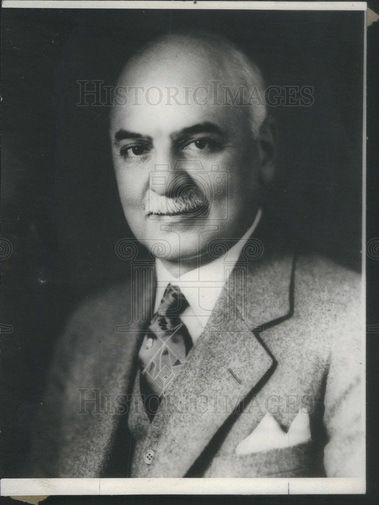 1934 Press Photo Mayor Angelo Rossi of San Francisco - Historic Images