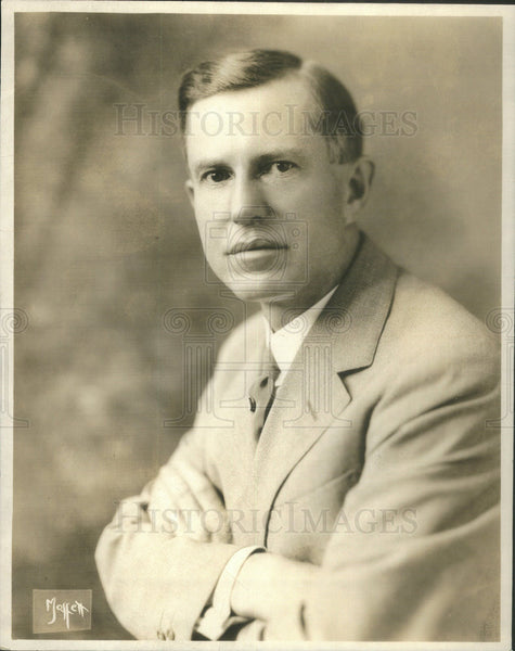 1926 Press Photo Douglas Malloch, poet. - Historic Images