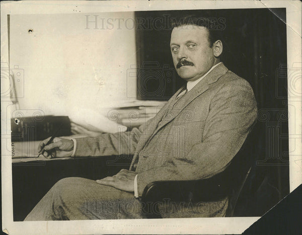 1916 Press Photo Dr Thomas Darlington Sanitation Hygiene Health Commissioner - Historic Images