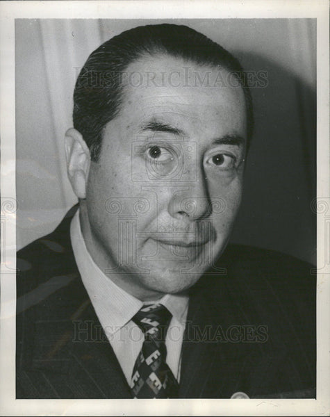 1945 Press Photo Marcial Mora, Ambassador to U.S., Born in Chile - Historic Images