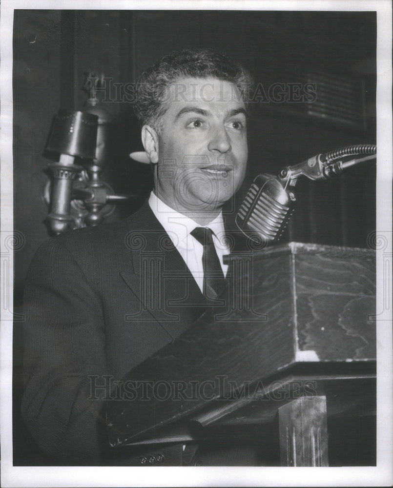 1962 Press Photo Dr. Nicholas A. Nissioyis - Historic Images