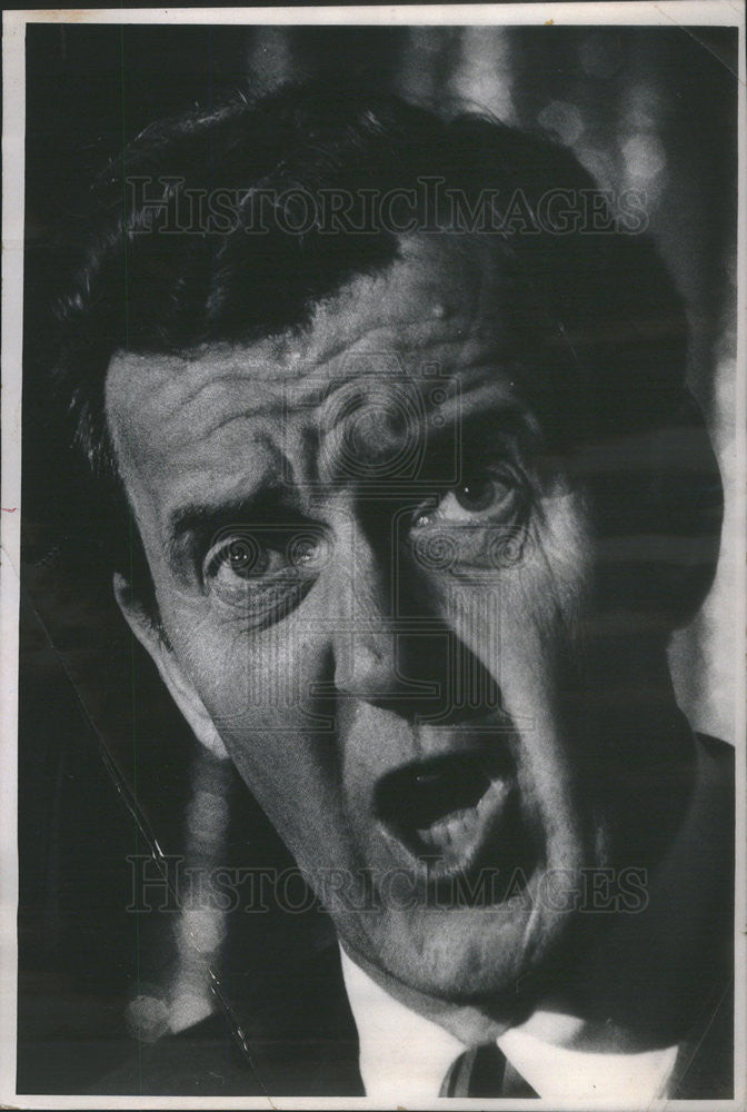 1968 Press Photo of Senator Edmund Muskie, Democratic VP nominee - Historic Images