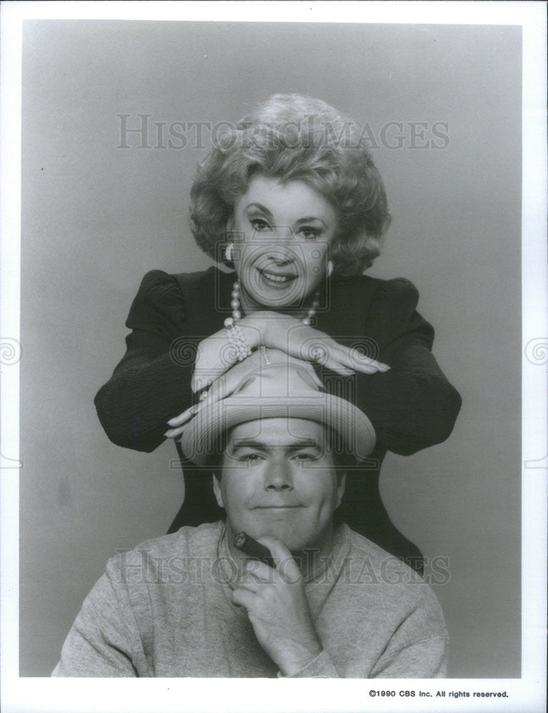 1990 Press Photo Comedian Kevin Meaney - Historic Images