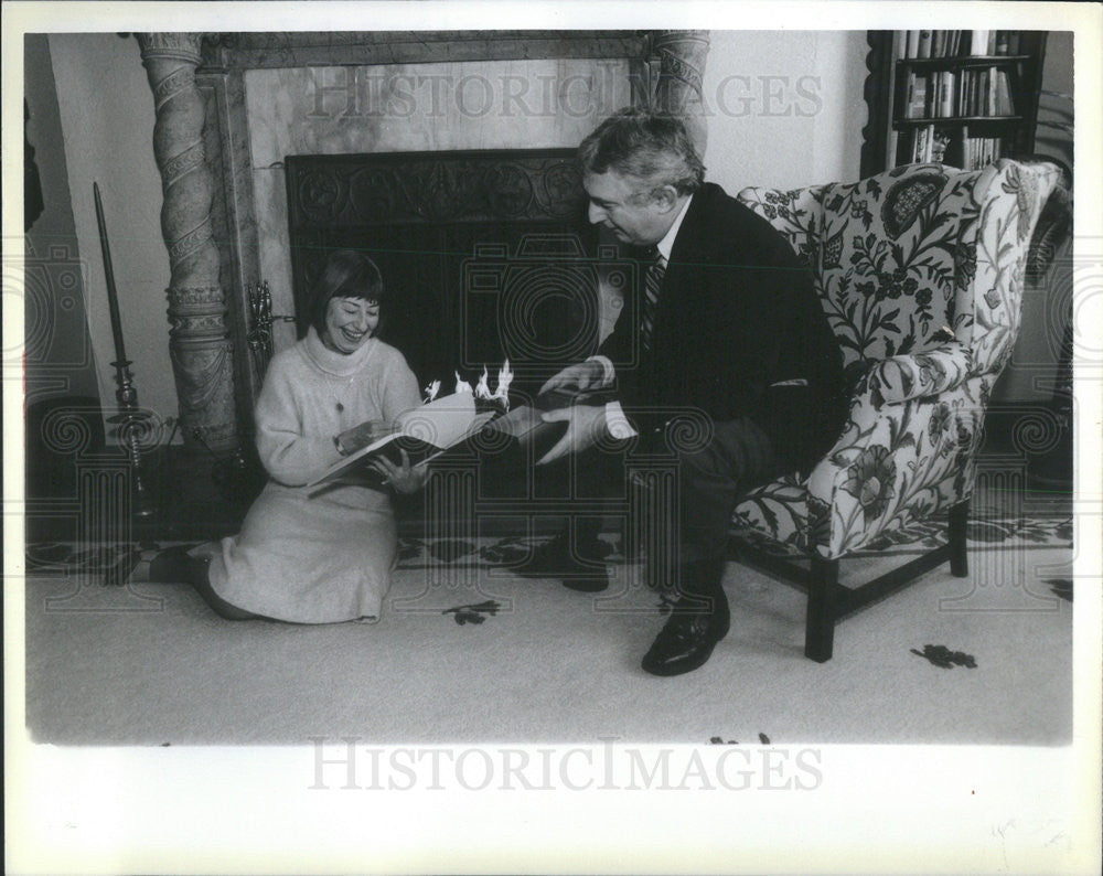 1985 Press Photo Jane Ellen Murray Playwright - Historic Images
