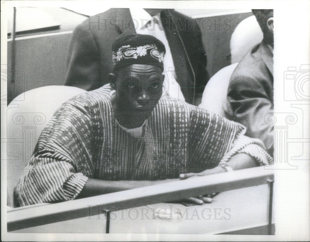 1958 Press Photo Mumuni Bawumina Ghana Delegate - Historic Images