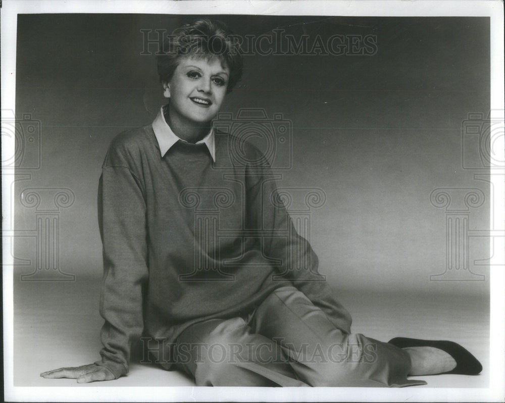 Press Photo English Actress Of Film, Theater, TV And Singer Angela Lansbury - Historic Images