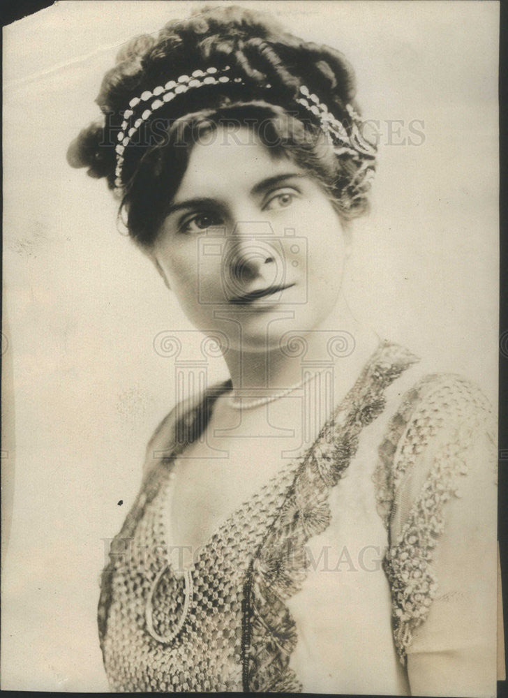 1911 Press Photo Christie MacDonald Actress New York - Historic Images