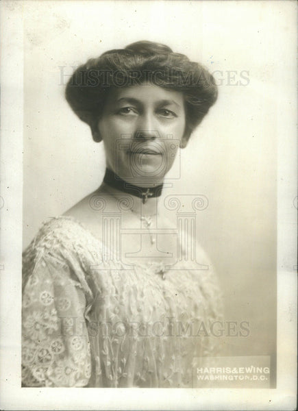 1913 Press Photo Emma Columbia Wife of Republican Politician James R. Mann - Historic Images