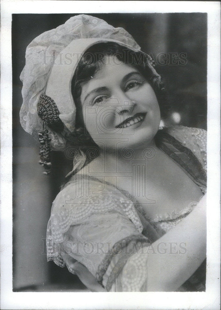 Press Photo Christie MacDonald, Musical Comedy Star - Historic Images