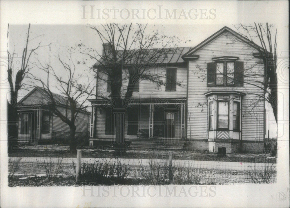 1938 Press Photo Birthplace of Stanley F. Reed, Kentucky statesmen. - Historic Images