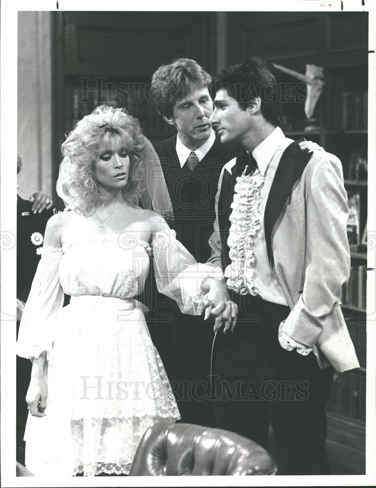 1983 Press Photo Night Court Harry Anderson Joey Aresco Judy Landers - Historic Images