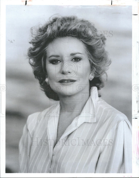 1984 Press Photo Barbara Walters Reporter Special ABC - Historic Images