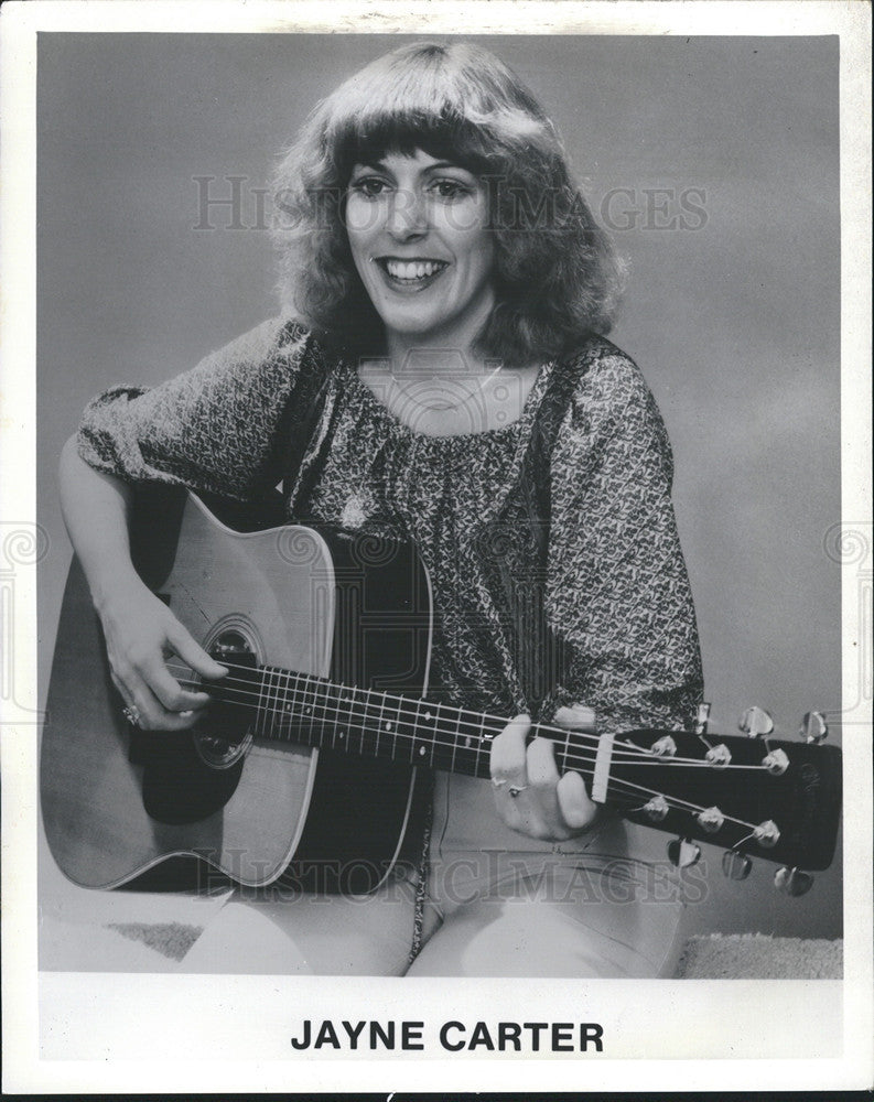 1980 Press Photo Jayne Carter - Historic Images