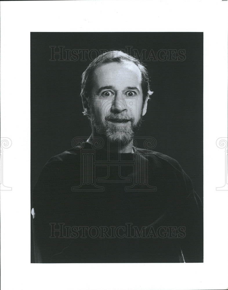 1985 Press Photo comedian george carlin metro cenre - Historic Images