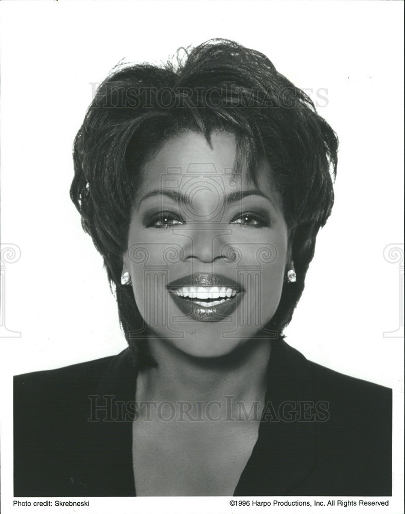 1996 Press Photo Oprah winfrey - Historic Images