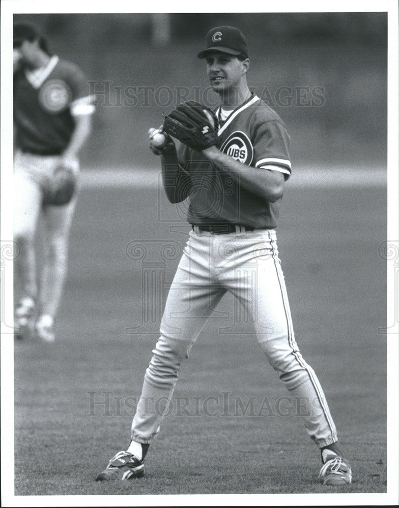 Press Photo Steve Trachsel Chicago cubs - Historic Images
