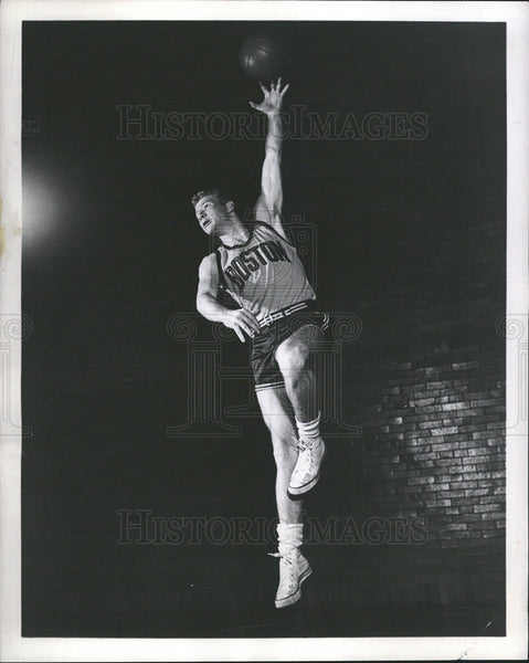 1952 Press Photo Joe Lyles,Boston Whirlwinds,ABA basketball team forward - Historic Images