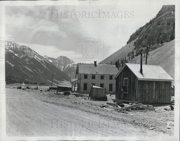 1966 Press Photo A ghost town in Colorado rockies - Historic Images