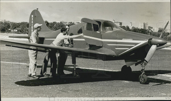 "1945 Press Photo The Rocket 185, ""family plane"" built by Johnson Aircraft Co., - Historic Images"