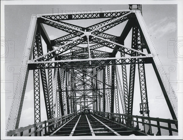 Undated Press Photo A Bridge under construction - Historic Images
