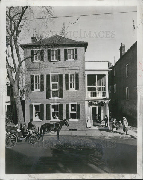 1951 Press Photo 94 Church St,Tour Headquarters of Historic Charleston,SC - Historic Images