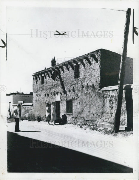 1959 Press Photo Oldest House in US Found in Santa Fe NM - Historic Images