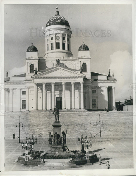 1938 Press Photo Helsinki Finland For Olympics - Historic Images