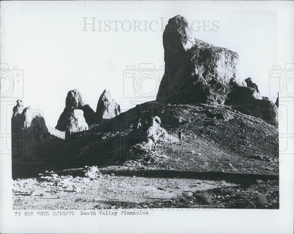 1971 Press Photo Death Valley California - Historic Images