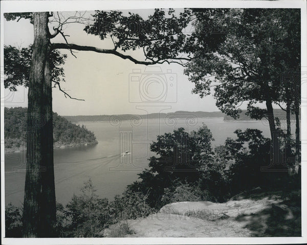 1965 Press Photo Lake Cumberland Kentucky - Historic Images