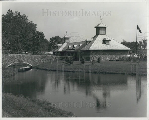 1982 Press Photo Typical Kentucky Horse Farm - Historic Images
