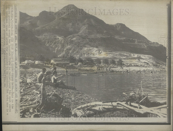 1966 Press Photo Sodom/Gomorrah Site/Israel - Historic Images