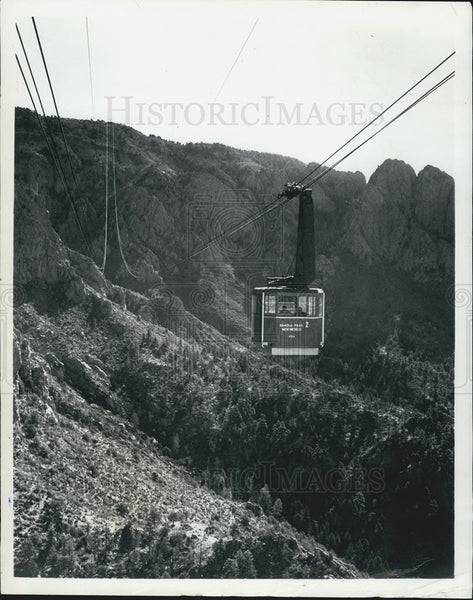 1970 Press Photo Air Gondola New Mexico - Historic Images