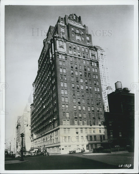 1964 Press Photo Americana of New York Hotel - Historic Images