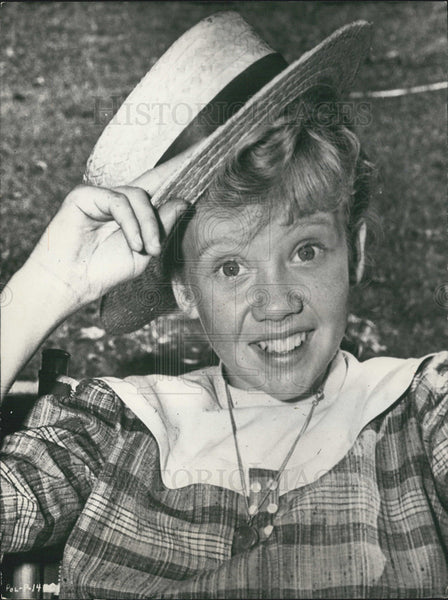 Press Photo Actress Hayley Mills - Historic Images