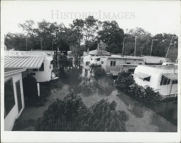 1972 Press Photo Flooding/Hurricane Agnes - Historic Images