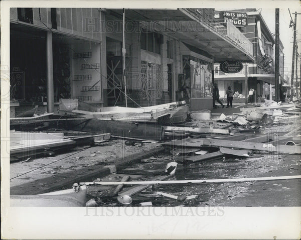 1969 Press Photo The Devastation Left By Hurricane Camille - Historic Images