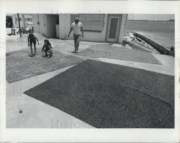 1972 Press Photo Hurricane Agnes Aftermath - Historic Images