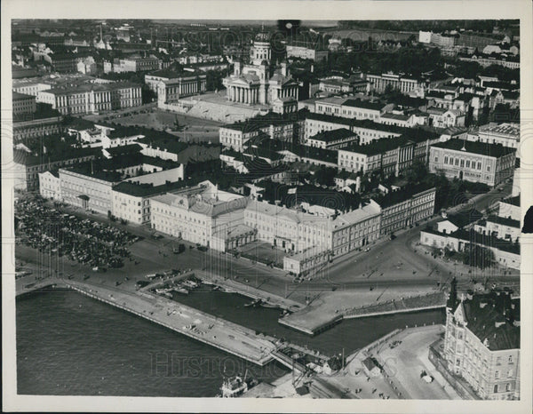 1939 Press Photo Helsinki Finland Soviet Russia's diplomatic target - Historic Images