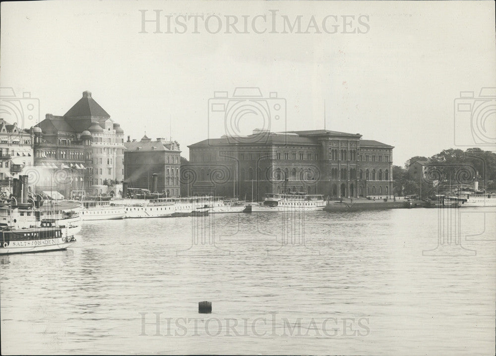 1915 Press Photo National Museum, National Gallery Stockholm - Historic Images